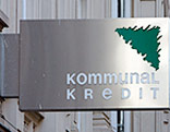 Logo der Kommunalkredit-Bank in Wien