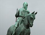 Statue des ehemaligen Königs von Schottland, Robert the Bruce