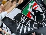 Fahne mit WAC-Logo