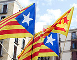Katalanische Flaggen