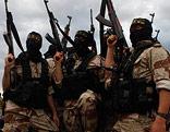 Bewaffnete IS-Dschihadisten