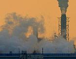 Rauchender Fabriksschlot