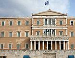 Außenaufnahme des griechischen Parlaments