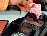 Bezahlvorgang mit Bankomatkarte
