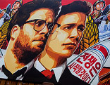 "Plakat des Films ""The Interview"""