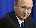 Rußlands Präsident Wladimir Putin