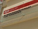 Türschild des BMF