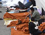 Flüchtlinge in Traiskirchen