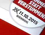 Wahlkarte für die Wien-Wahl