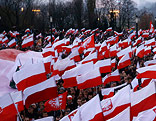 Protest in Polen