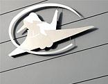 Gebäude des Eurofighter-Simulators in Zeltweg