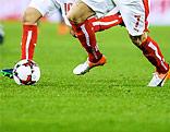 Beine und Ball