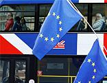 EU-Fahnen in London