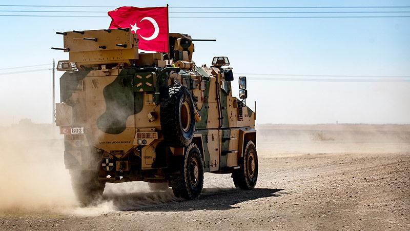 Türkische Streitkräfte in Syrien