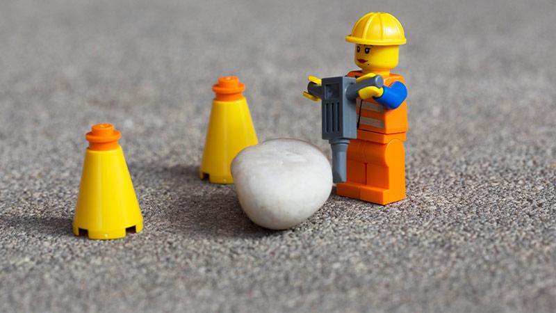 Lego Bauarbeiter