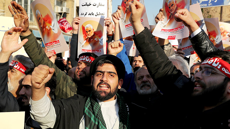 Demo in Teheran