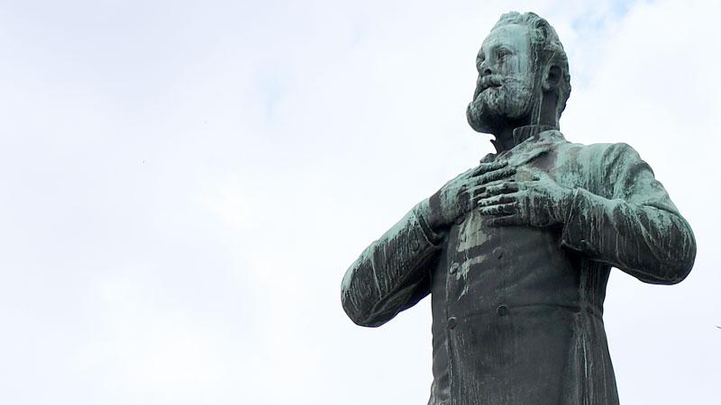 Denkmal für den ehemaligen Wiener Bürgermeister Karl Lueger