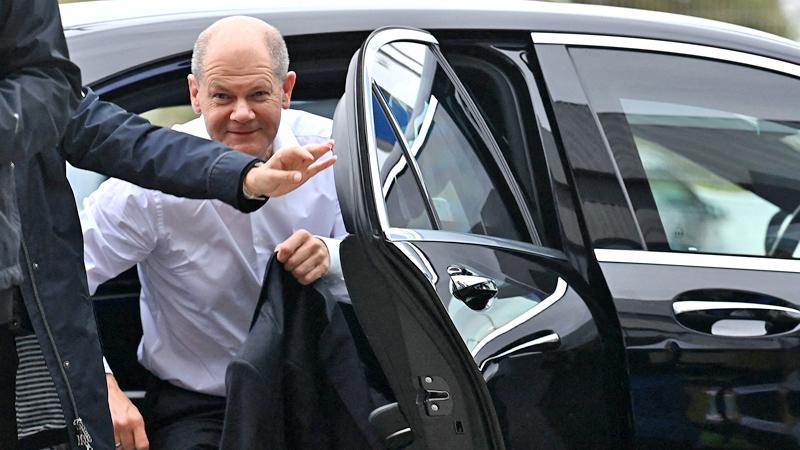Der deutsche Kanzlerkandidat Olaf Scholz